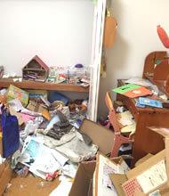 ゴミ屋敷・汚部屋の片付け