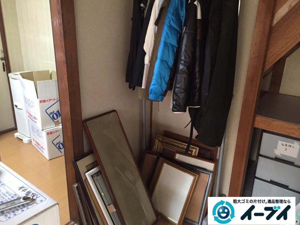 8月31日 羽曳野市で部屋の片付けに伴う家具処分や粗大ゴミの不用品回収をしました。写真2