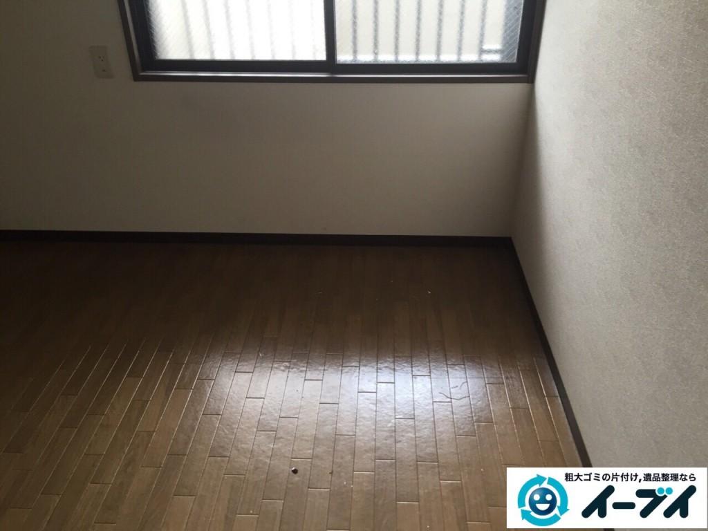 8月31日 堺市東区で部屋の片付けに伴う粗大ゴミや廃品の不用品回収をしました。写真4