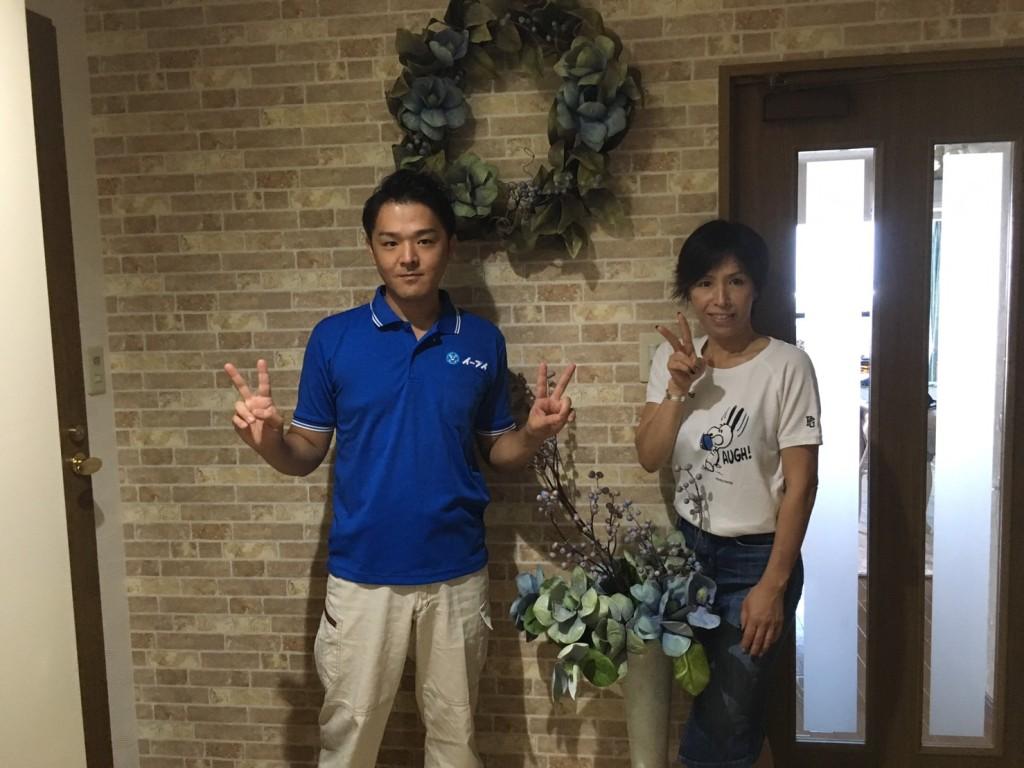 8月31日 大阪府茨木市でソファーとダイニングテーブルの粗大ゴミの不用品回収をしました。
