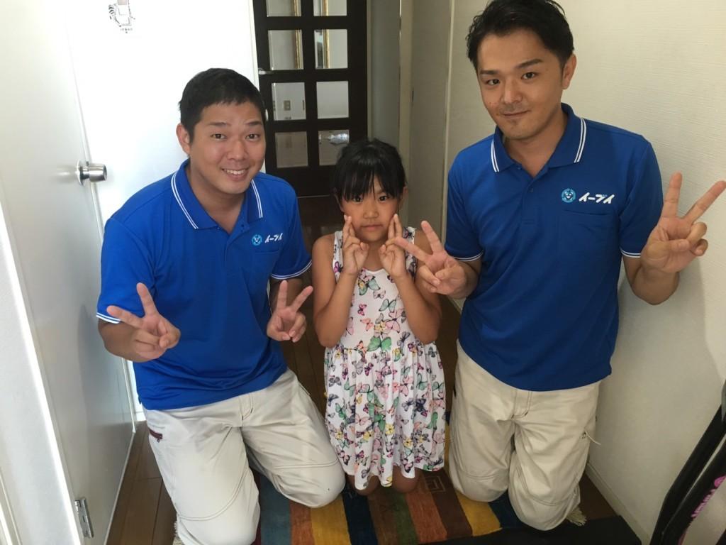 8月31日 大阪府吹田市でテレビ台や学習デスク等の粗大ゴミの不用品回収をしました。