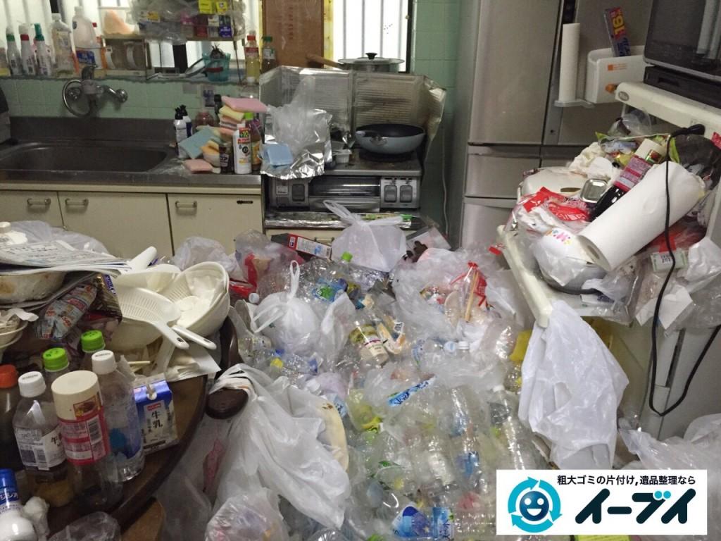 9月16日 大阪府大阪市城東区でゴミ屋敷状態の汚部屋の片付けをしました。写真7
