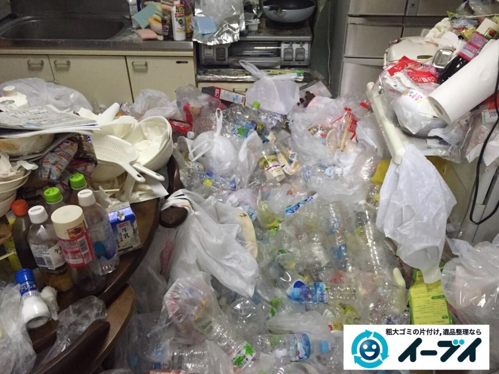 9月16日 大阪府大阪市城東区でゴミ屋敷状態の汚部屋の片付けをしました。写真6