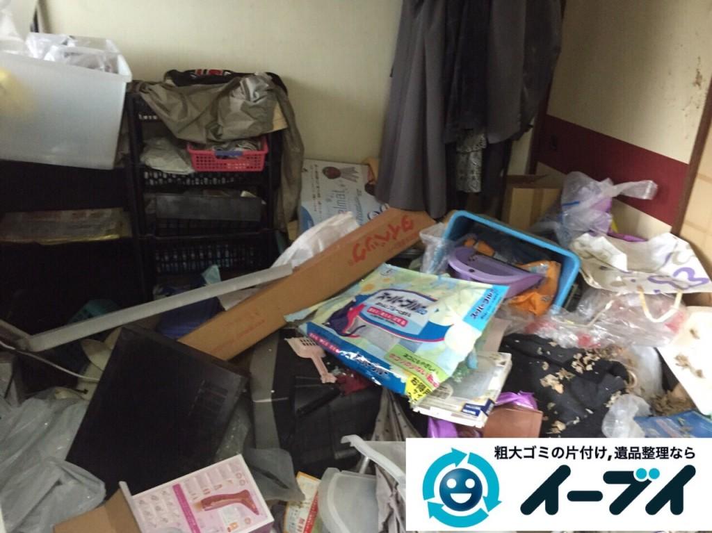 9月2日 大阪府堺市堺区で汚部屋状態のゴミ屋敷の片付けをしました。写真4
