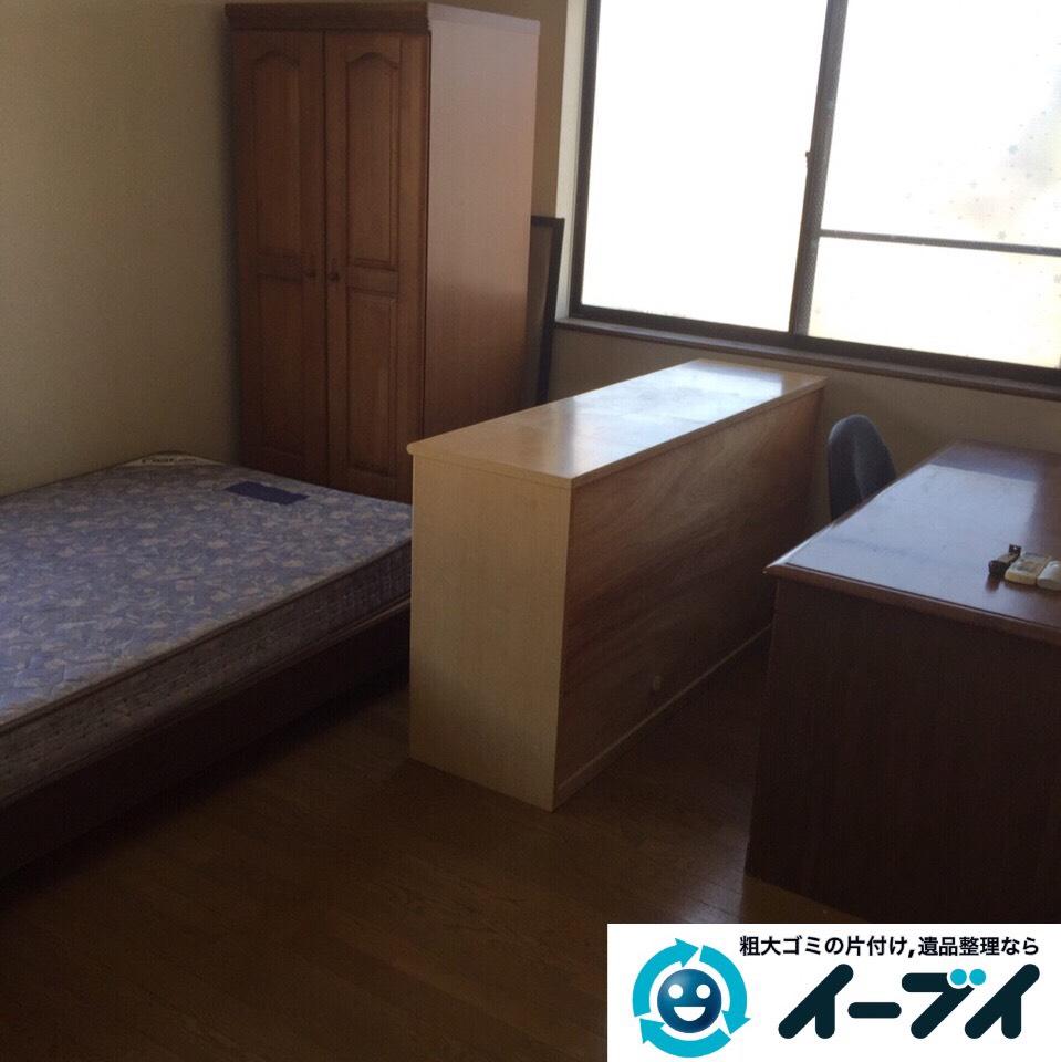 9月5日 大阪府堺市中区で引越しに伴う粗大ゴミや家具の処分をしました。作業写真1