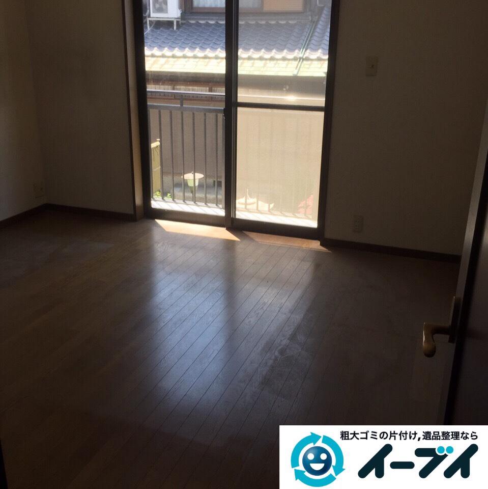 9月5日 大阪府堺市中区で引越しに伴う粗大ゴミや家具の処分をしました。作業写真2