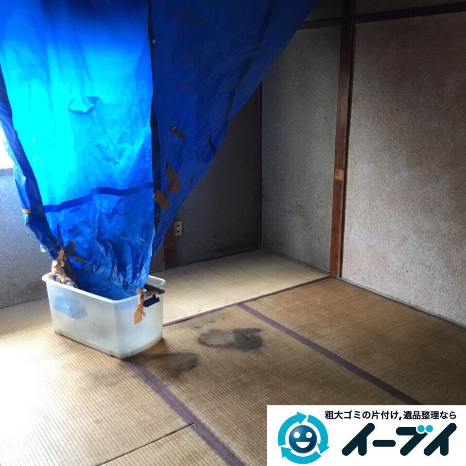 9月6日 大阪市堺市美原区で遺品整理に伴う家具や粗大ゴミの部屋の片付けをしました。写真4
