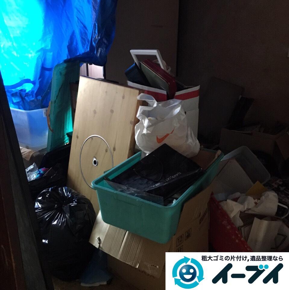 9月6日 大阪市堺市美原区で遺品整理に伴う家具や粗大ゴミの部屋の片付けをしました。写真3
