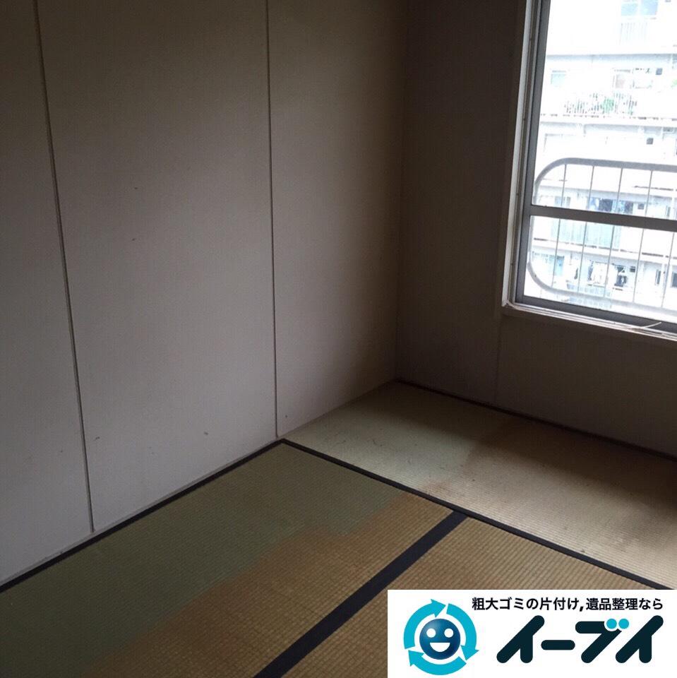 9月6日 大阪府堺市北区で家具や衣類など片付けて引き取り処分をしました。写真3