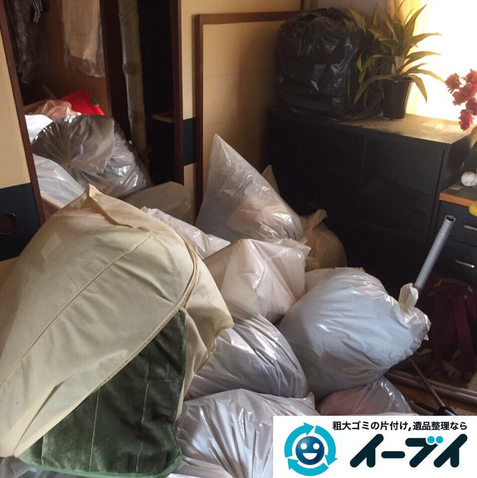 9月6日 大阪府堺市北区で家具や衣類など片付けて引き取り処分をしました。写真2