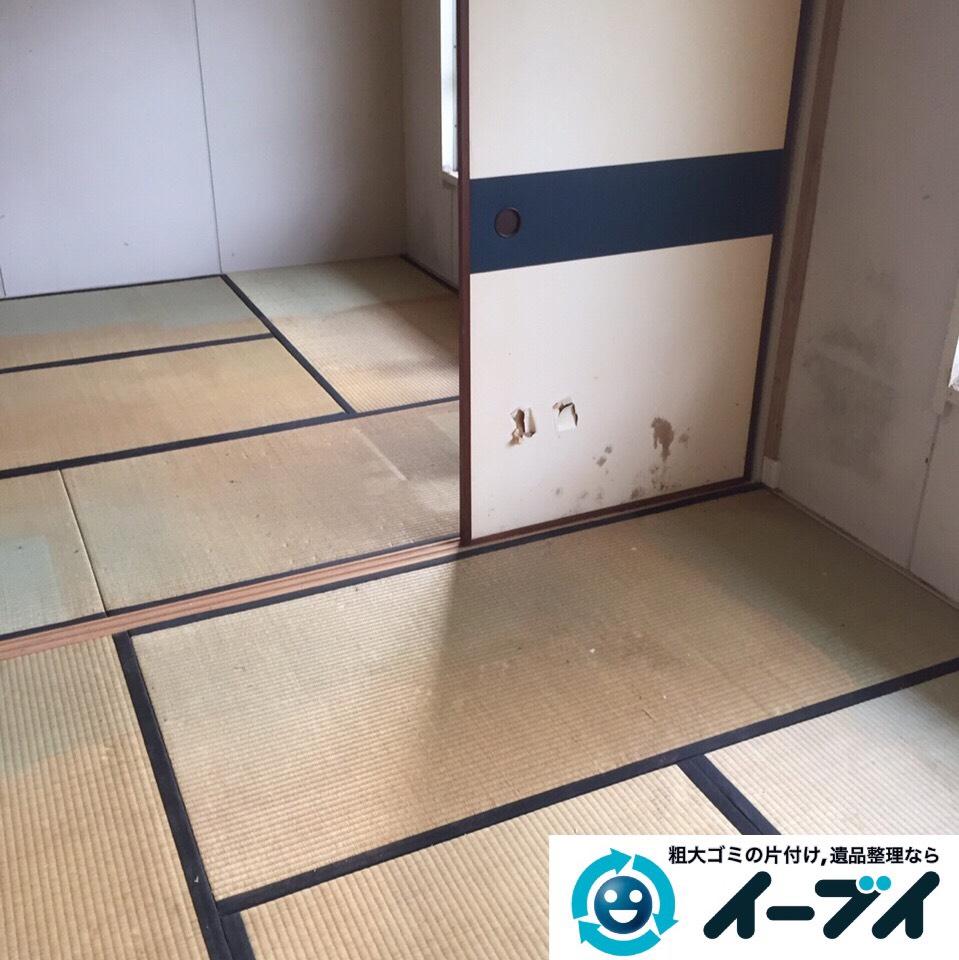 9月6日 大阪府堺市北区で家具や衣類など片付けて引き取り処分をしました。写真1