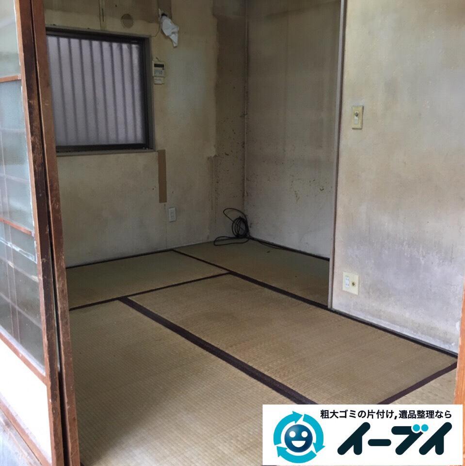 9月11日 大阪府摂津市で食器棚や絨毯などの粗大ゴミの引き取り処分をしました。写真2
