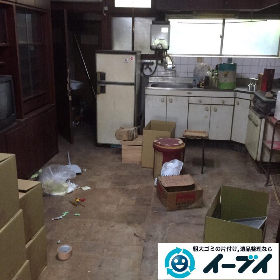 9月14日 大阪府大阪市港区で引越し後の粗大ゴミの不用品を片付けしました。写真2