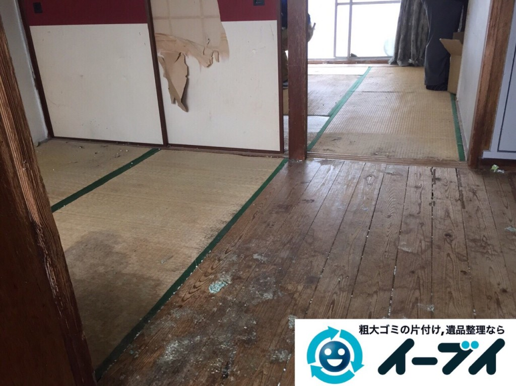 9月18日 大阪府大阪市西区で汚部屋のゴミ屋敷の片付けをしました。写真4