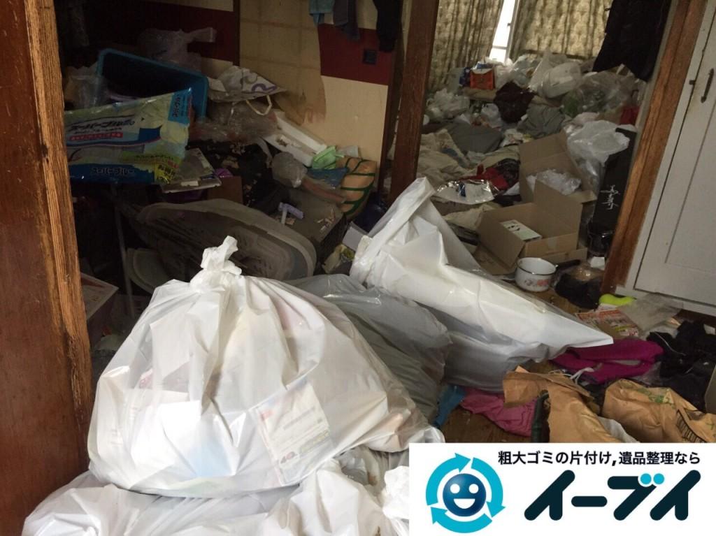 9月18日 大阪府大阪市西区で汚部屋のゴミ屋敷の片付けをしました。写真3
