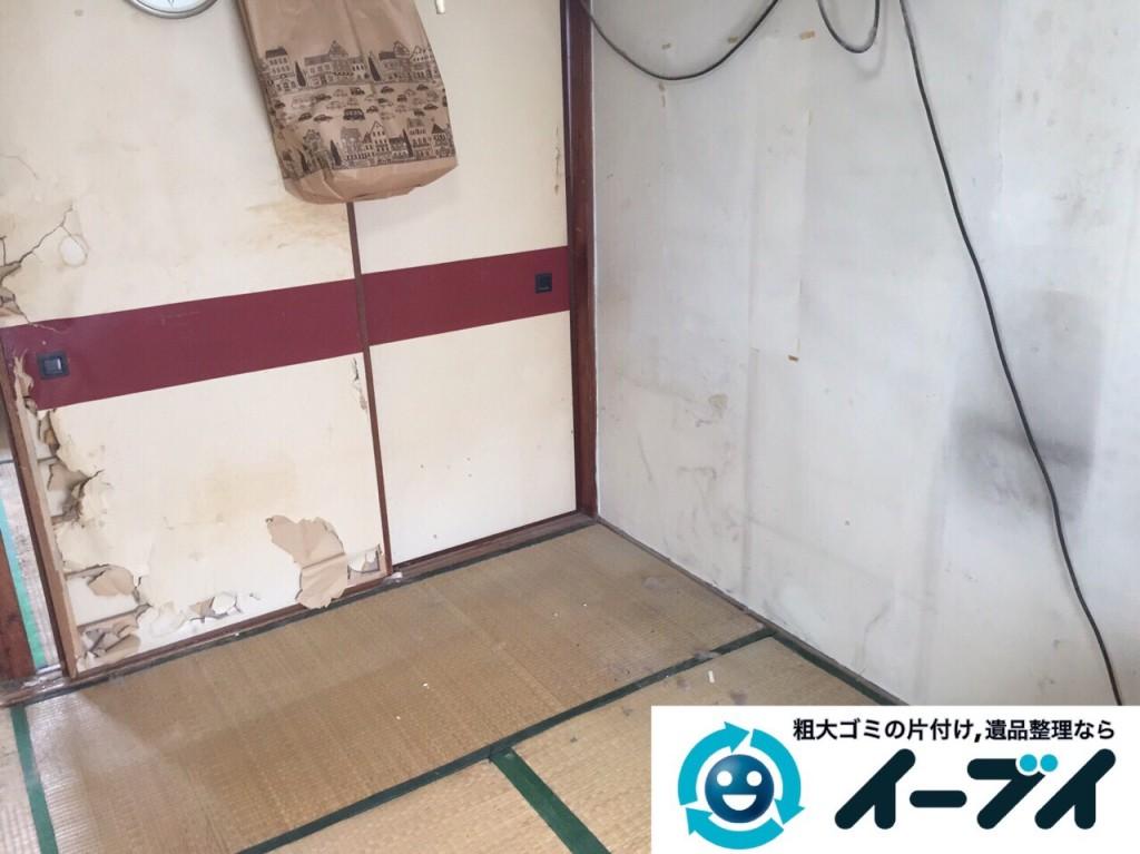 9月18日 大阪府大阪市西区で汚部屋のゴミ屋敷の片付けをしました。写真2