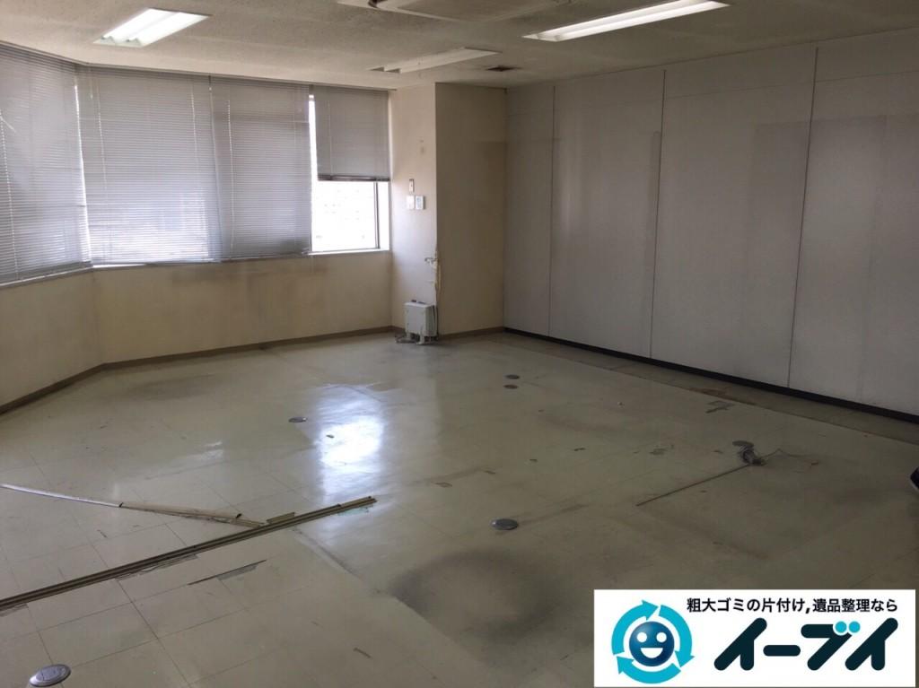 9月19日 大阪府大阪市中央区で事務所の粗大ゴミや事務机などの廃品の回収処分をしました。【前編】 写真3