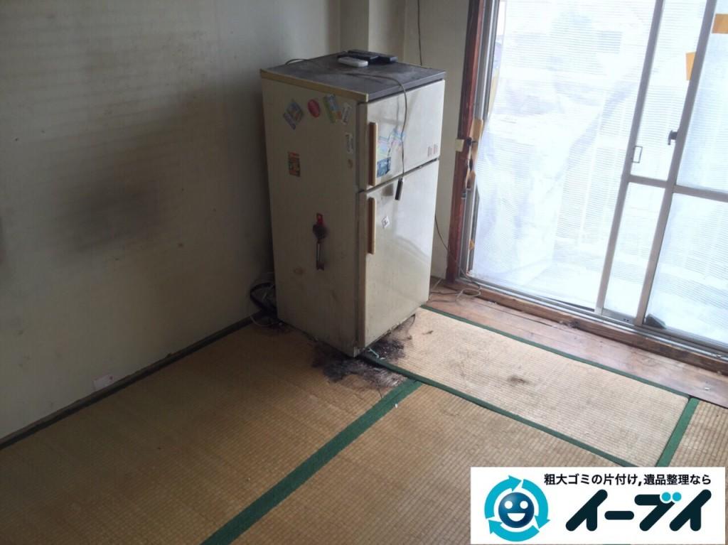 9月21日 大阪府大阪市都島区でゴミ屋敷と呼ばれる汚部屋の片付け回収作業をしました。写真3