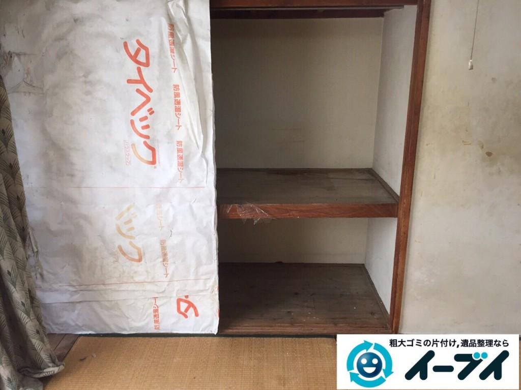 9月21日 大阪府大阪市東住吉区でゴミ屋敷の片付けのご依頼をいただきました。  写真2