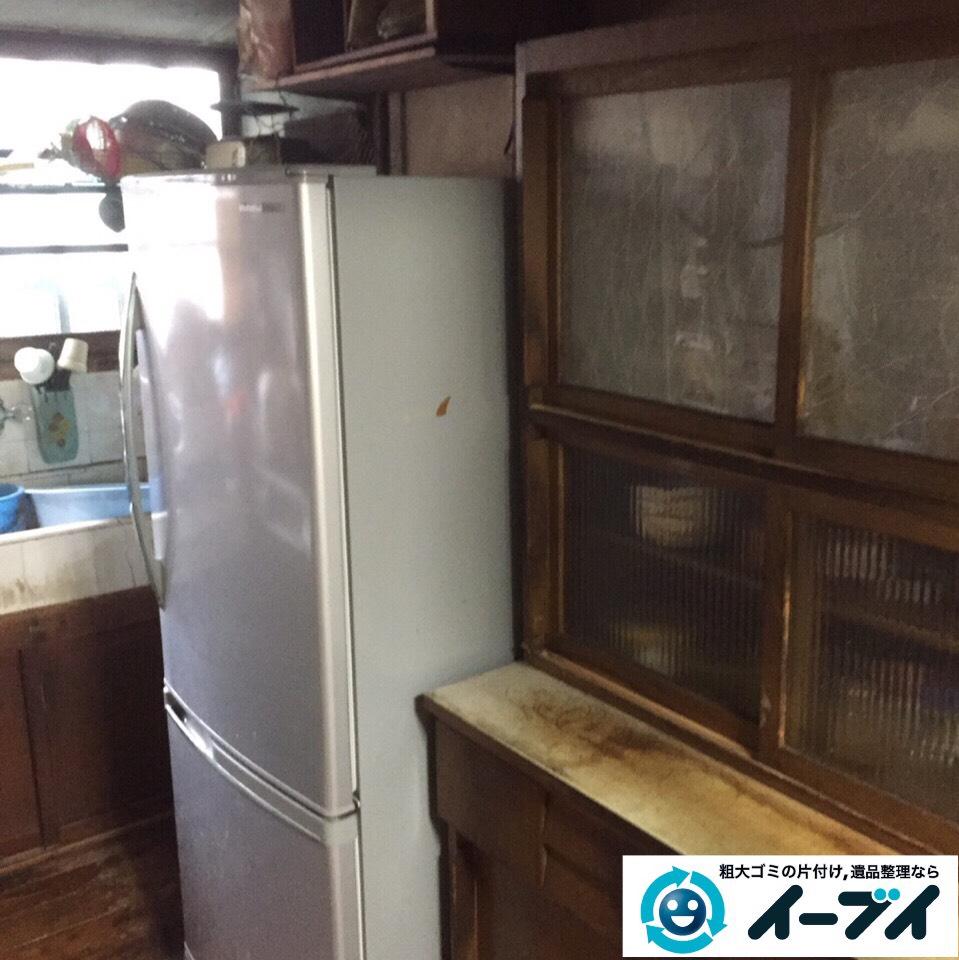 9月25日 大阪府大阪市浪速区で冷蔵庫やキッチン周りの不用品回収をしました。  写真4