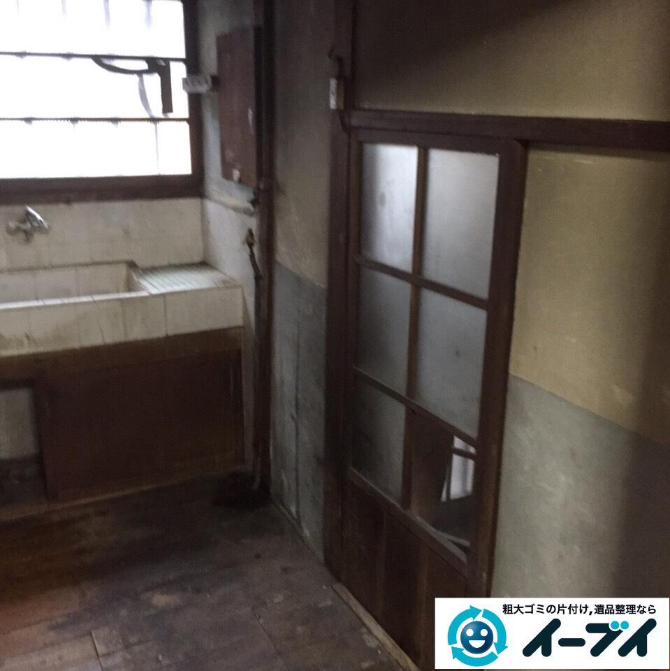 9月25日 大阪府大阪市浪速区で冷蔵庫やキッチン周りの不用品回収をしました。  写真3