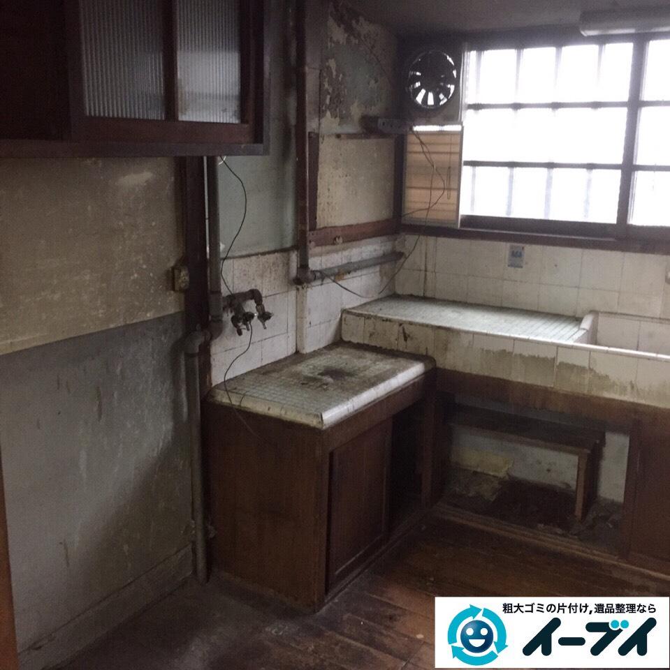 9月25日 大阪府大阪市浪速区で冷蔵庫やキッチン周りの不用品回収をしました。  写真2