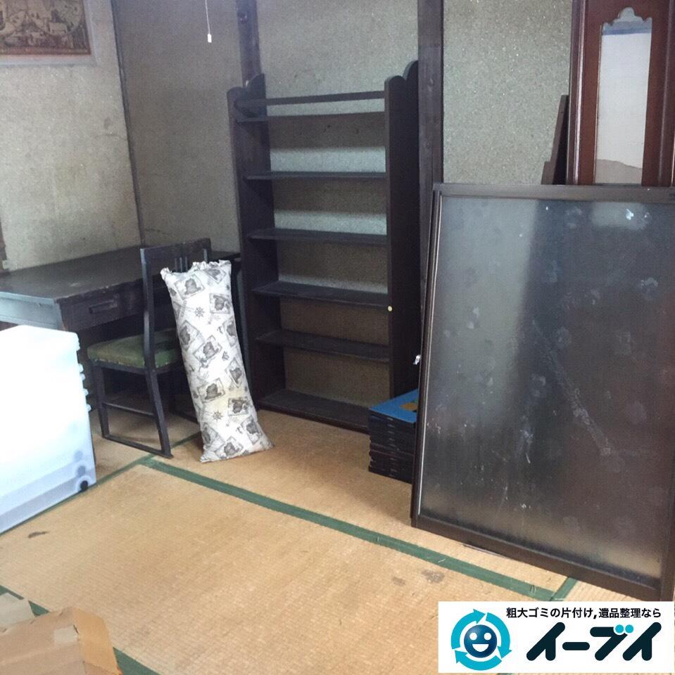 9月27日 大阪府柏原市で遺品整理に伴う粗大ゴミや大型ゴミの片付けをしました。写真1