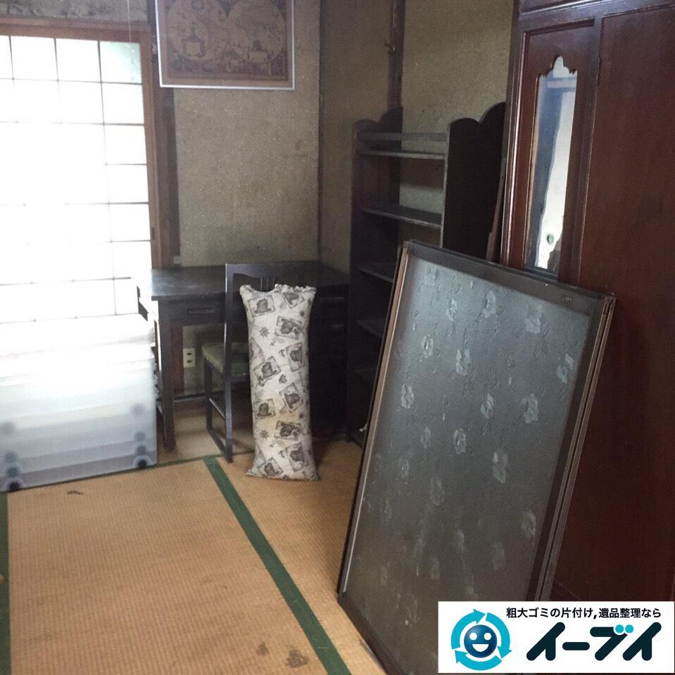 9月27日 大阪府柏原市で遺品整理に伴う粗大ゴミや大型ゴミの片付けをしました。写真4