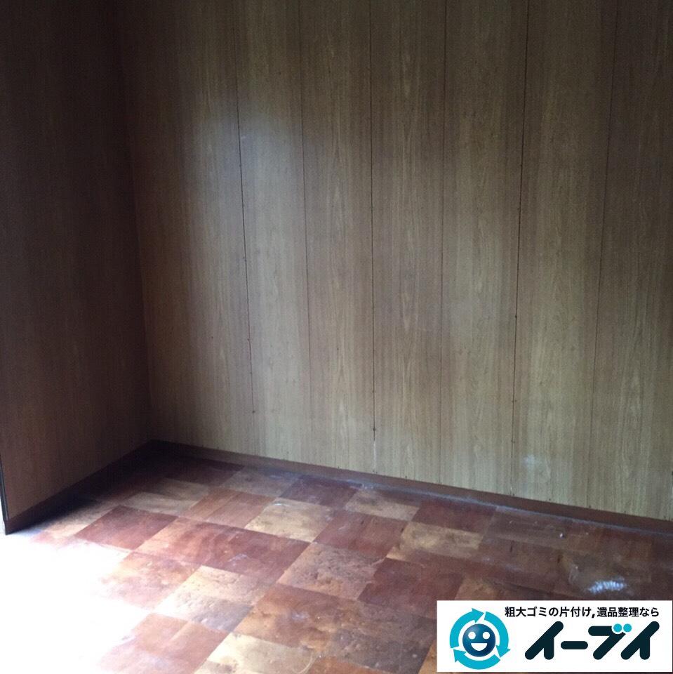 9月26日 大阪府大東市で婚礼家具とチェストによる大型家具の不用品回収をしました。写真1