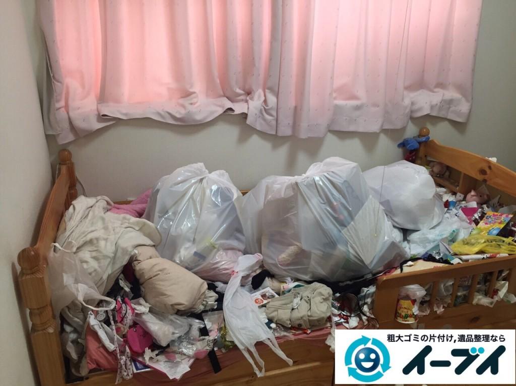 9月29日 大阪府東大阪市でゴミ屋敷の片付けと不用品回収をしました。写真4