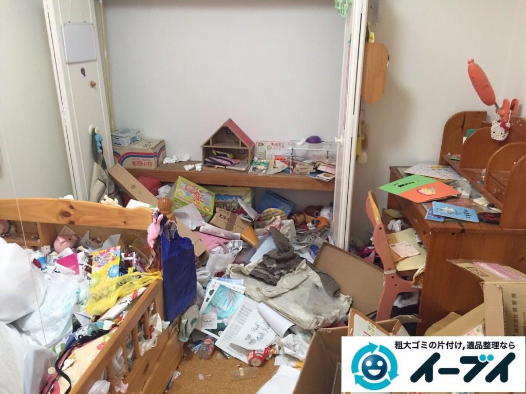 9月29日 大阪府東大阪市でゴミ屋敷の片付けと不用品回収をしました。写真1