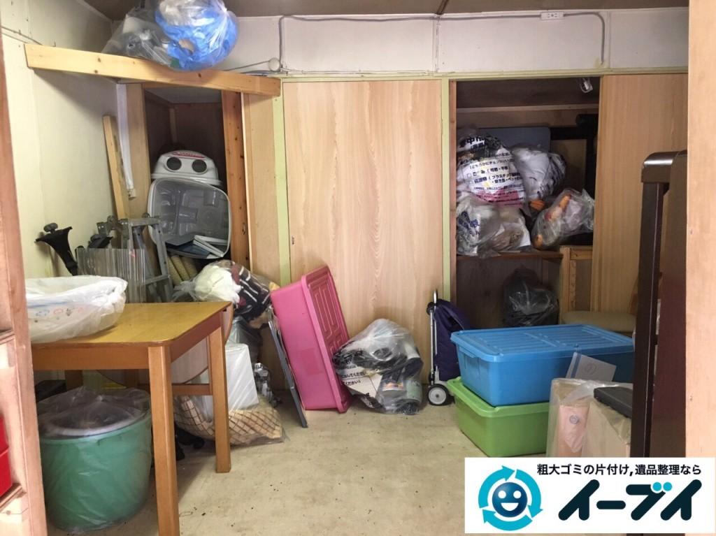 10月2日 大阪府豊中市で部屋の片付けに伴う粗大ゴミの不用品回収をしました。写真1