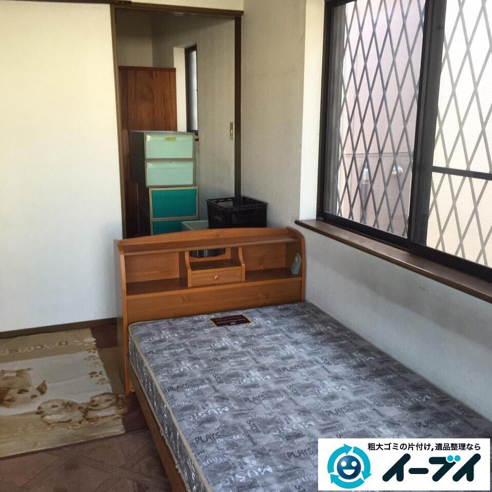 10月2日 大阪府枚方市で遺品整理による生活用品や婚礼家具など丸ごと片付けました。写真4