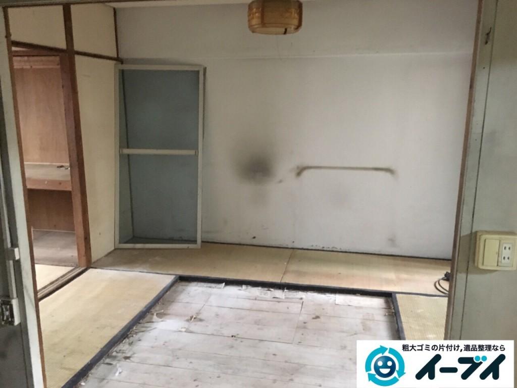 9月30日 大阪府箕面市でゴミ屋敷の片付けをイーブイにご依頼くださいました。写真1
