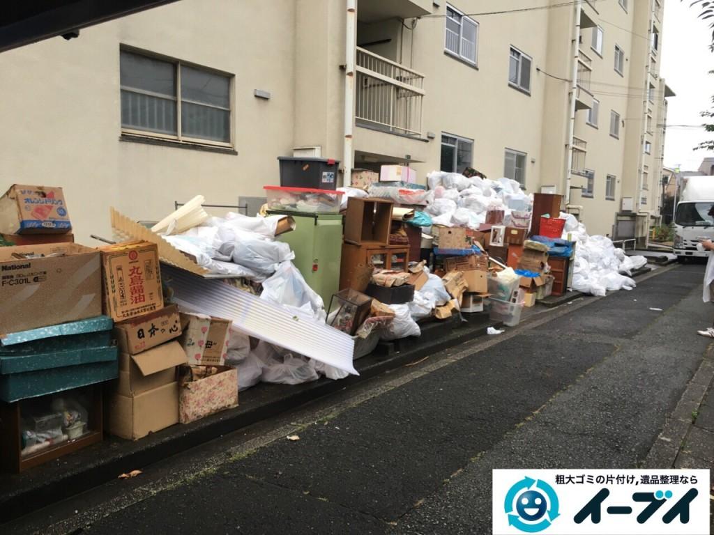 9月15日 大阪府大阪市此花区で汚部屋状態のゴミ屋敷の片付けをしました。後編 写真1