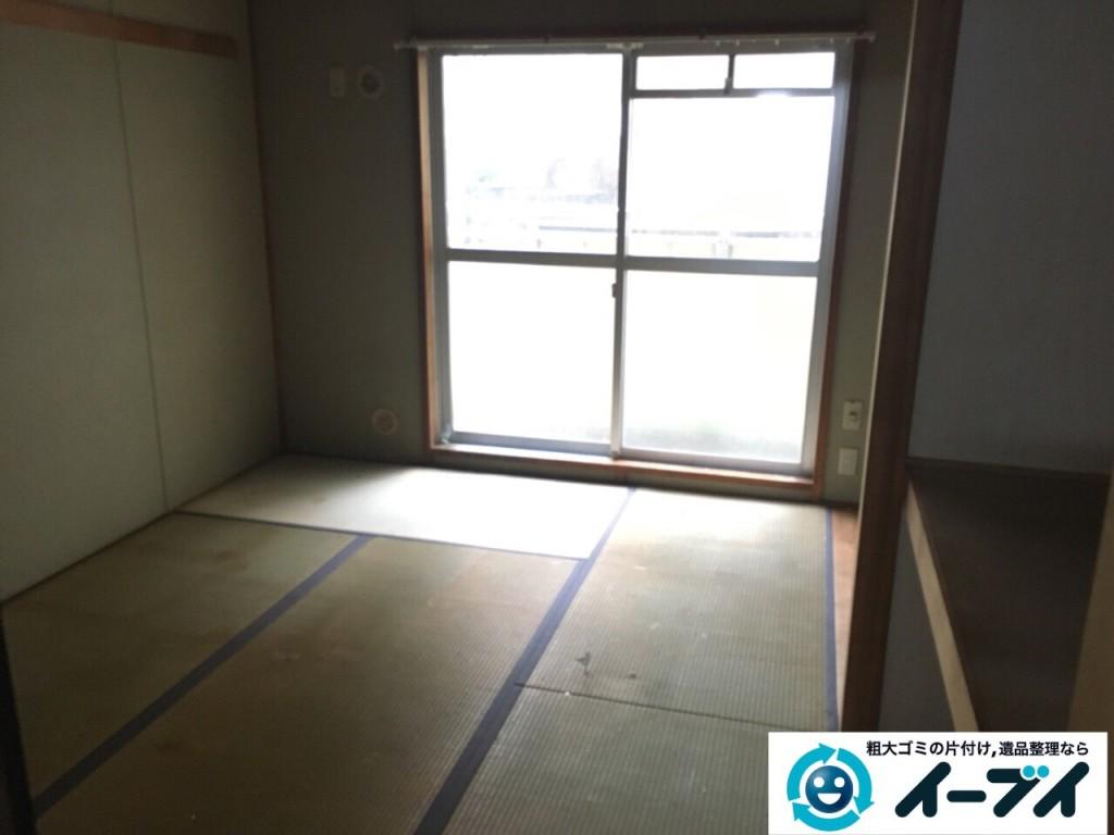9月30日 大阪府箕面市でゴミ屋敷の片付けをイーブイにご依頼くださいました。写真6