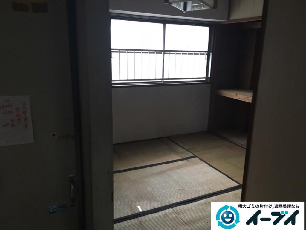 9月30日 大阪府箕面市でゴミ屋敷の片付けをイーブイにご依頼くださいました。写真5