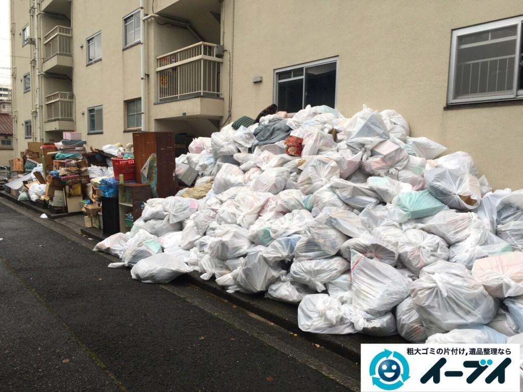 9月15日 大阪府大阪市此花区で汚部屋状態のゴミ屋敷の片付けをしました。後編 写真5