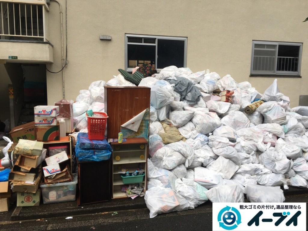9月15日 大阪府大阪市此花区で汚部屋状態のゴミ屋敷の片付けをしました。後編 写真3
