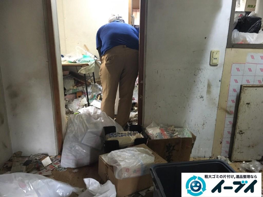 9月15日 大阪府大阪市此花区で汚部屋状態のゴミ屋敷の片付けをしました。片付け編 (前編)写真5