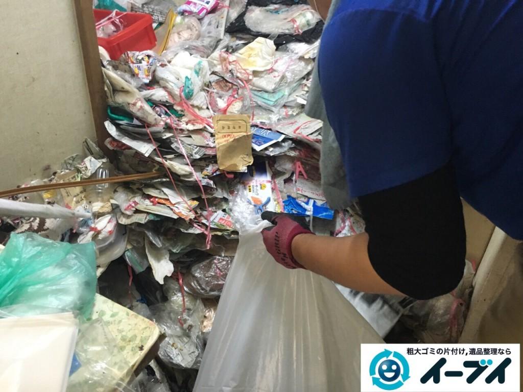 9月15日 大阪府大阪市此花区で汚部屋状態のゴミ屋敷の片付けをしました。片付け編 (前編)写真4
