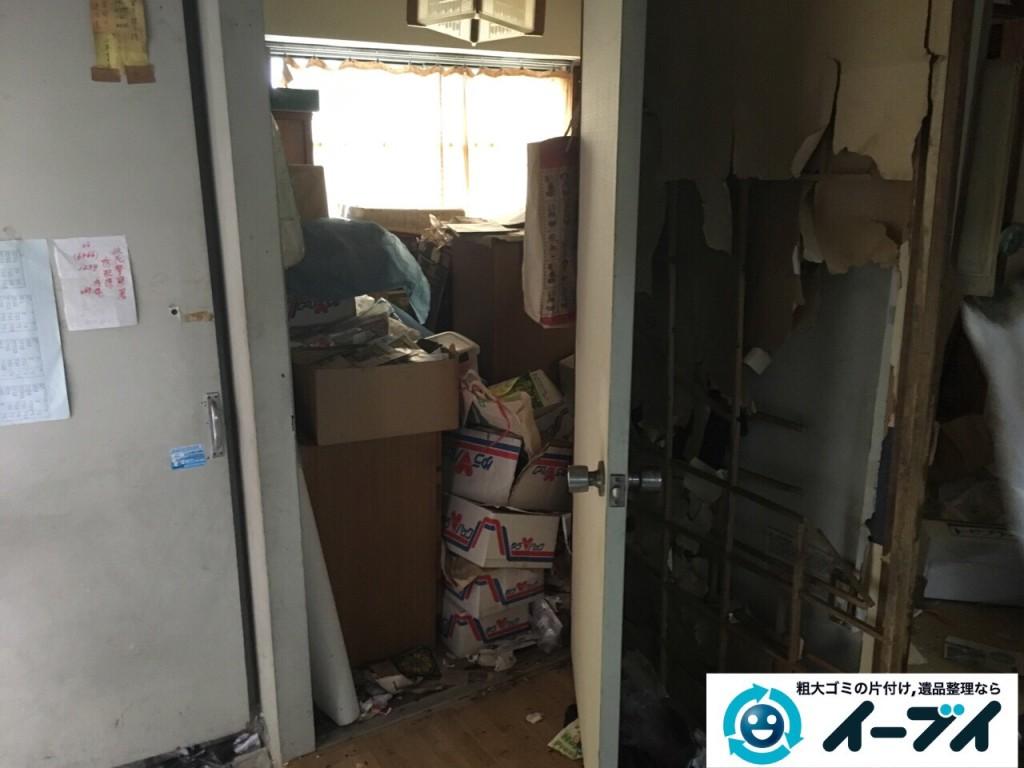 9月30日 大阪府箕面市でゴミ屋敷の片付けをイーブイにご依頼くださいました。写真4