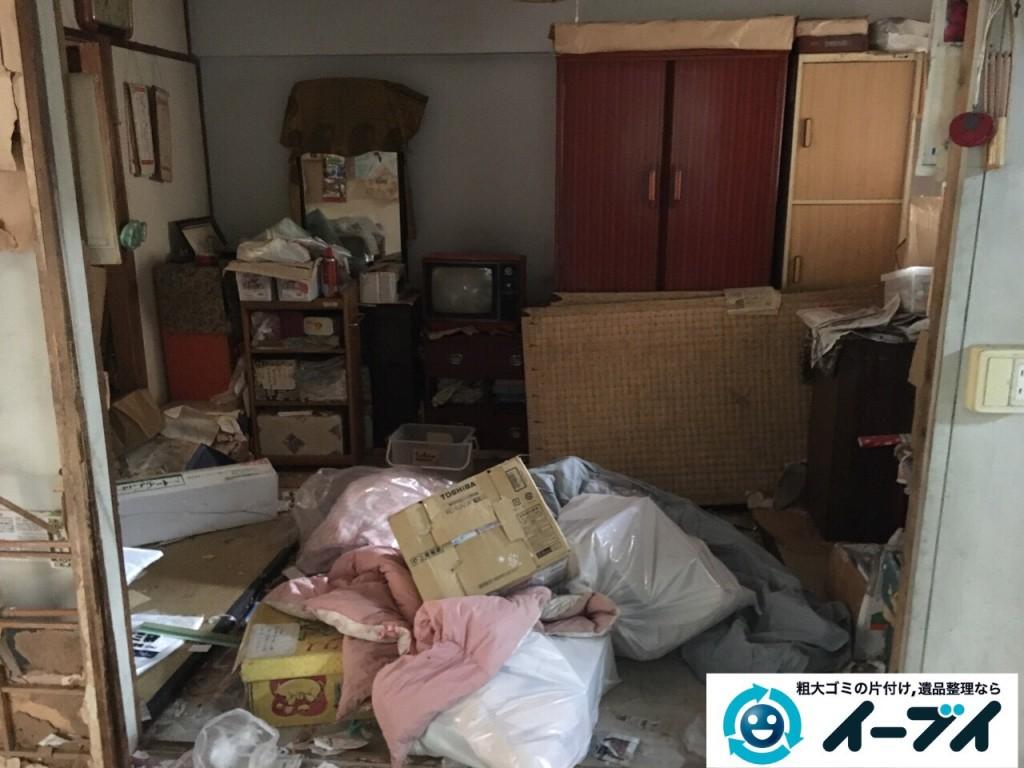 9月30日 大阪府箕面市でゴミ屋敷の片付けをイーブイにご依頼くださいました。写真3