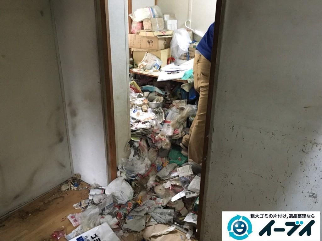9月15日 大阪府大阪市此花区で汚部屋状態のゴミ屋敷の片付けをしました。片付け編 (前編)写真3
