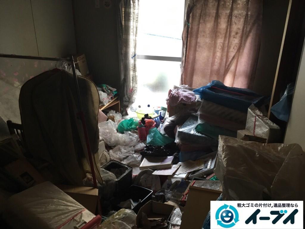 9月30日 大阪府箕面市でゴミ屋敷の片付けをイーブイにご依頼くださいました。写真2