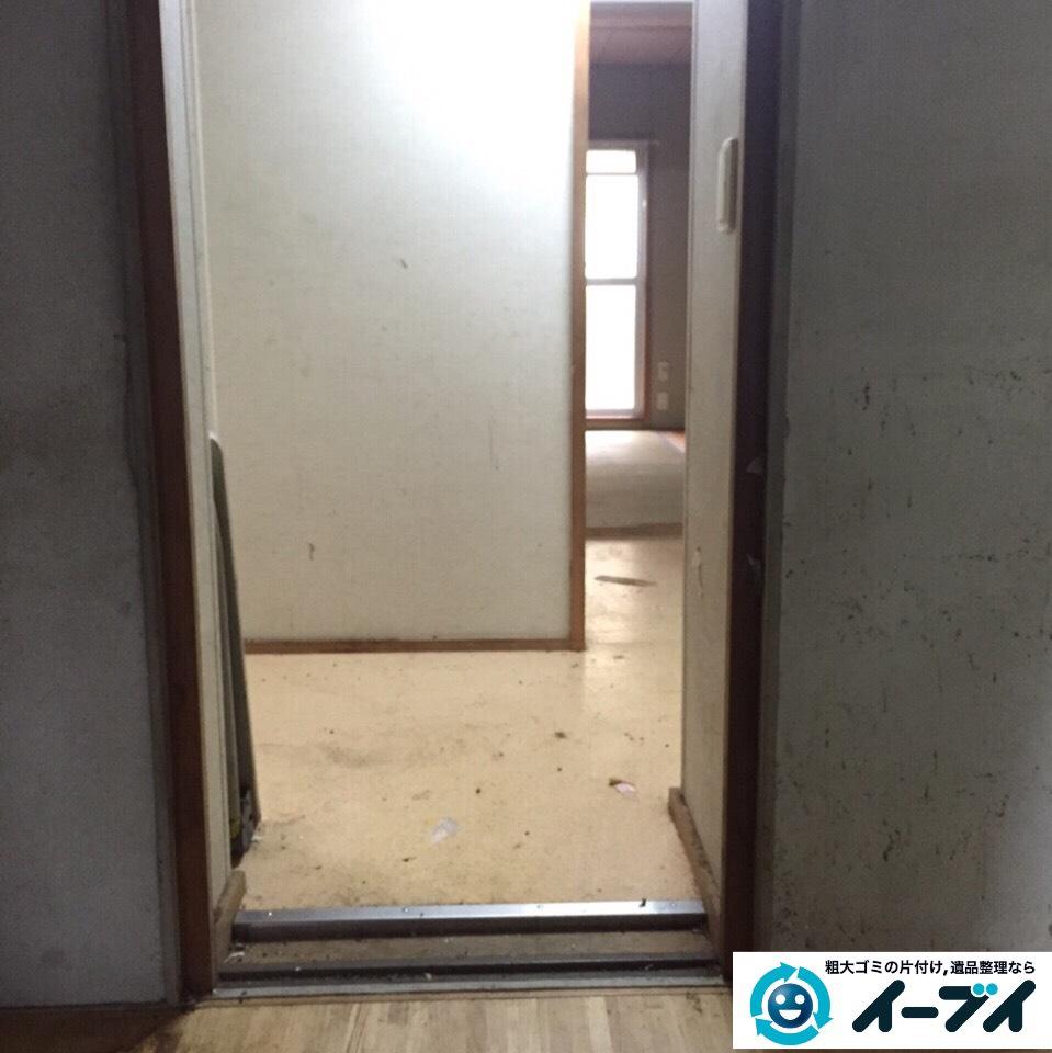 9月27日 大阪府豊能郡豊能町でゴミ屋敷の片付け処分をしました。写真6