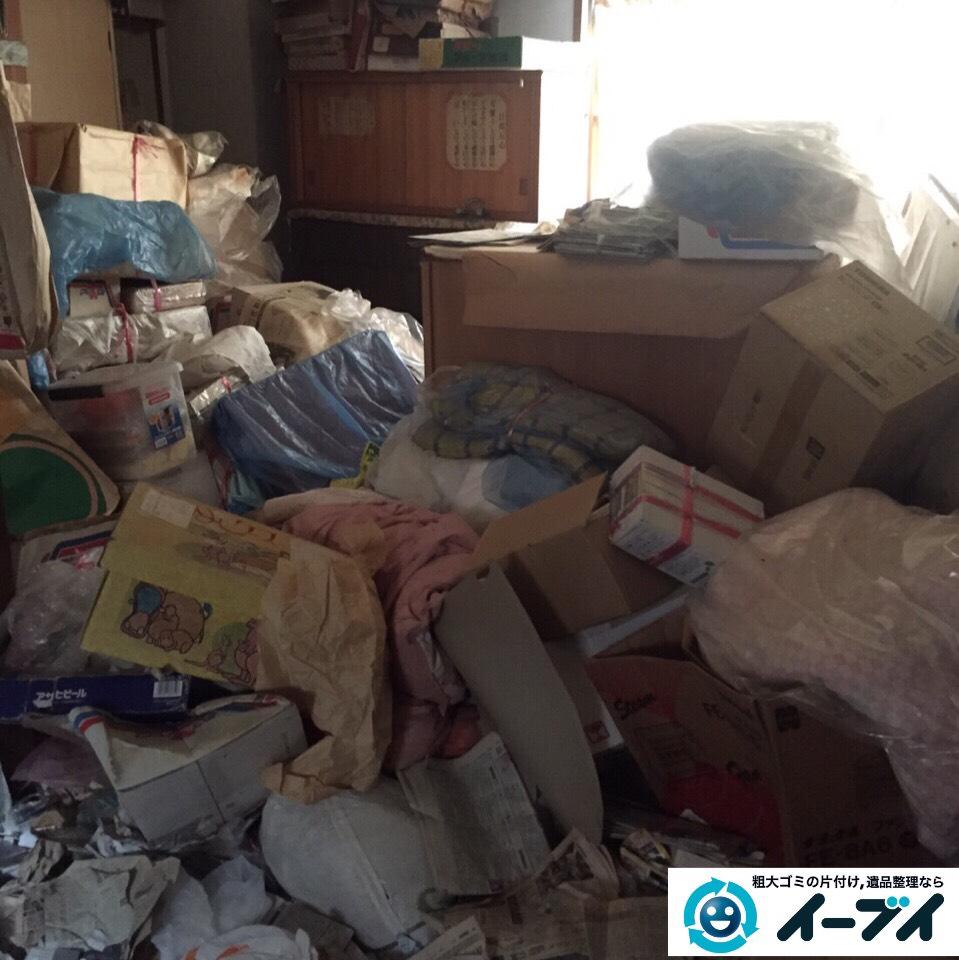 9月27日 大阪府豊能郡豊能町でゴミ屋敷の片付け処分をしました。写真5
