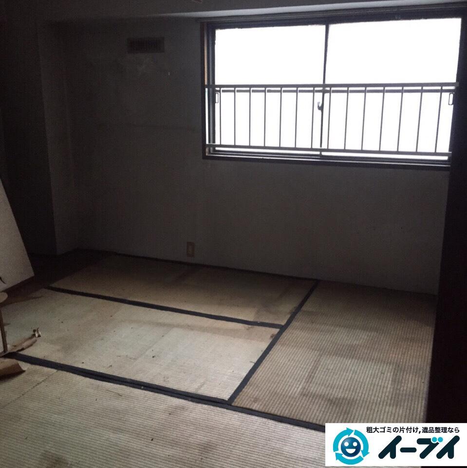 9月27日 大阪府豊能郡豊能町でゴミ屋敷の片付け処分をしました。写真4