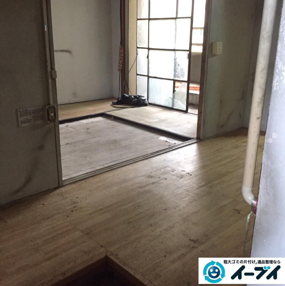 9月27日 大阪府豊能郡豊能町でゴミ屋敷の片付け処分をしました。写真2
