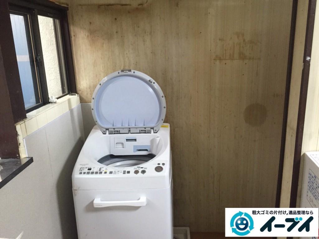 10月4日 大阪府藤井寺市で下駄箱と収納家具の粗大ゴミの不用品回収をしました。写真4
